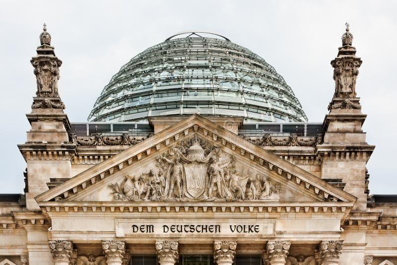 reichstag berlin Германии стоковые фото