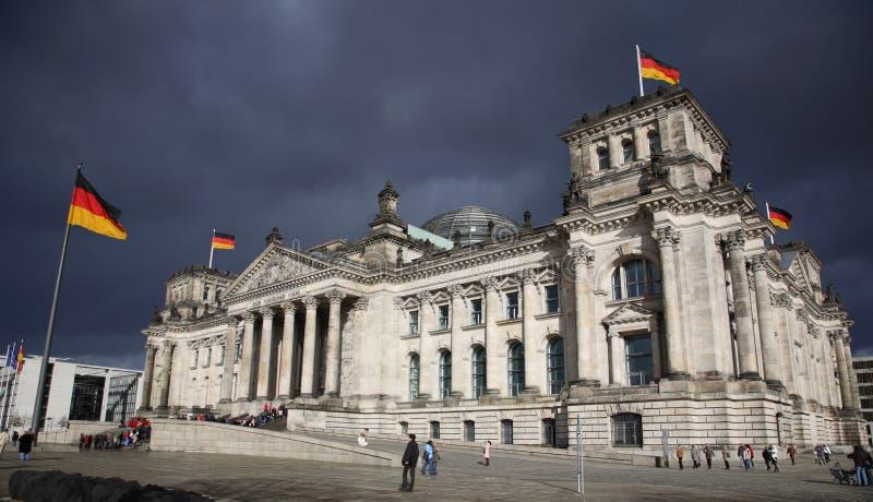 reichstag berlin Германии стоковые фотографии rf