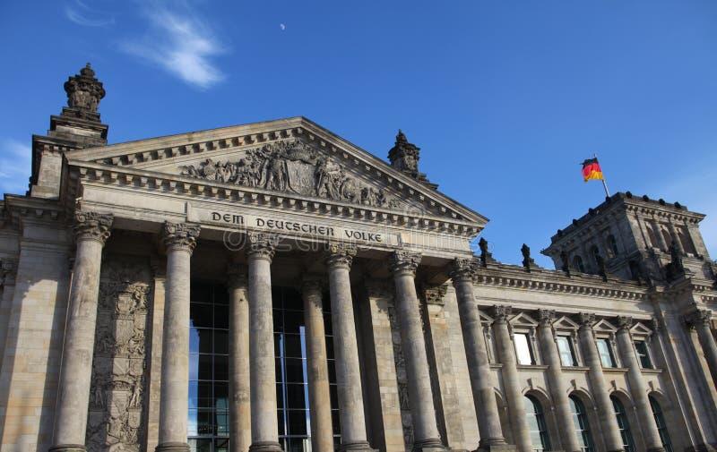 reichstag berlin стоковая фотография rf