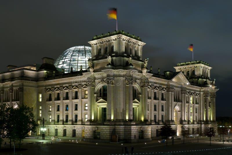 Reichstag Berlin image libre de droits