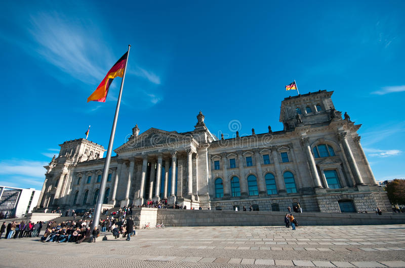 Reichstag, Berlin photo stock