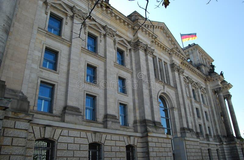 Reichstag Berlin obraz stock
