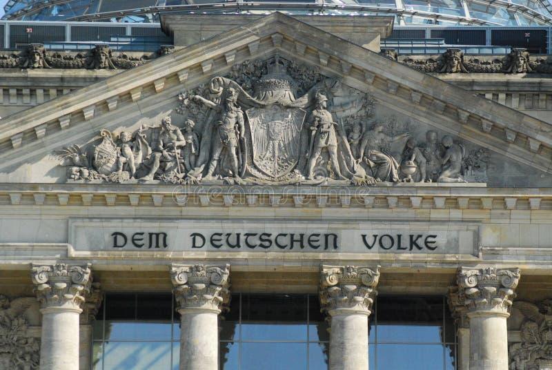 Reichstag Berlin fotografia royalty free