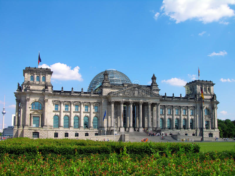 Reichstag, Berlin, Germany stock photography
