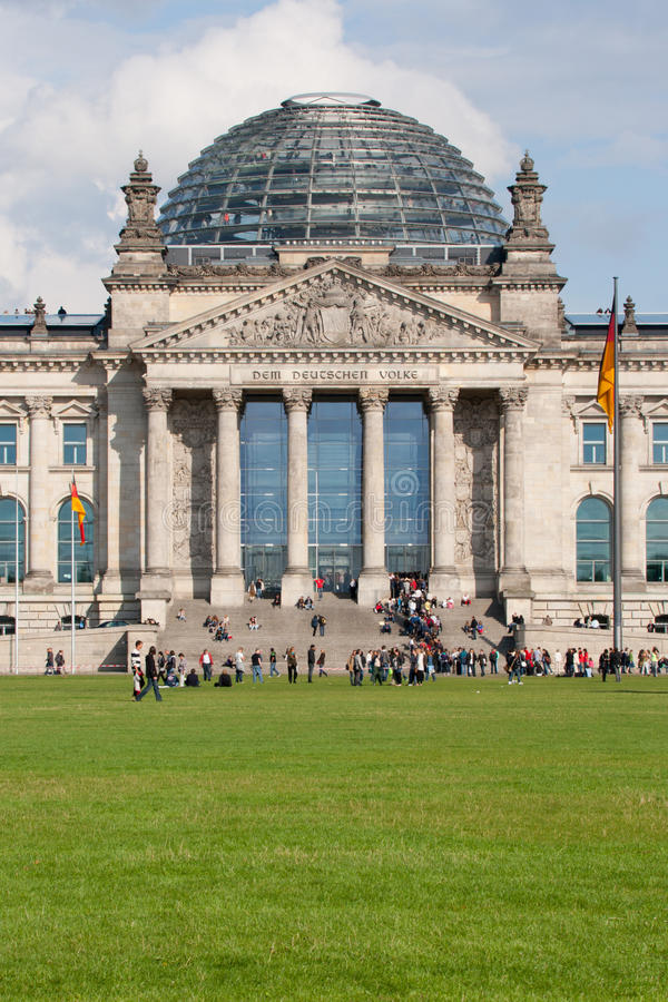 Reichstag in Berlin, Germany stock images