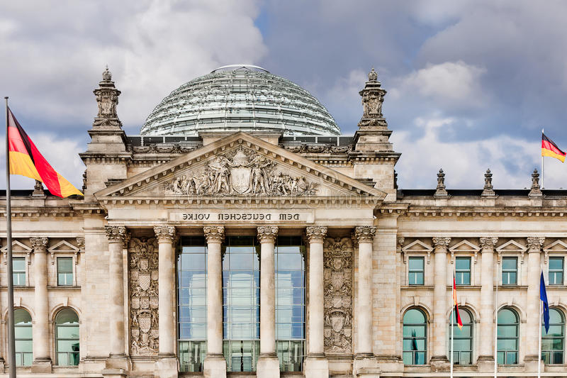 Reichstag berlin germany stock photos
