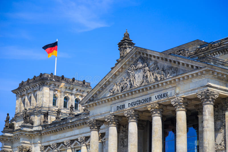 Reichstag, Berlin stock images