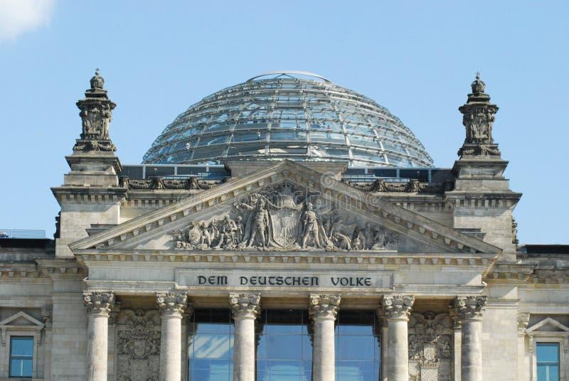 Reichstag Berlino immagine stock