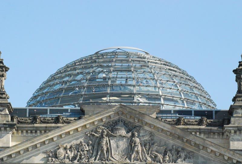 Reichstag Berlino fotografia stock libera da diritti