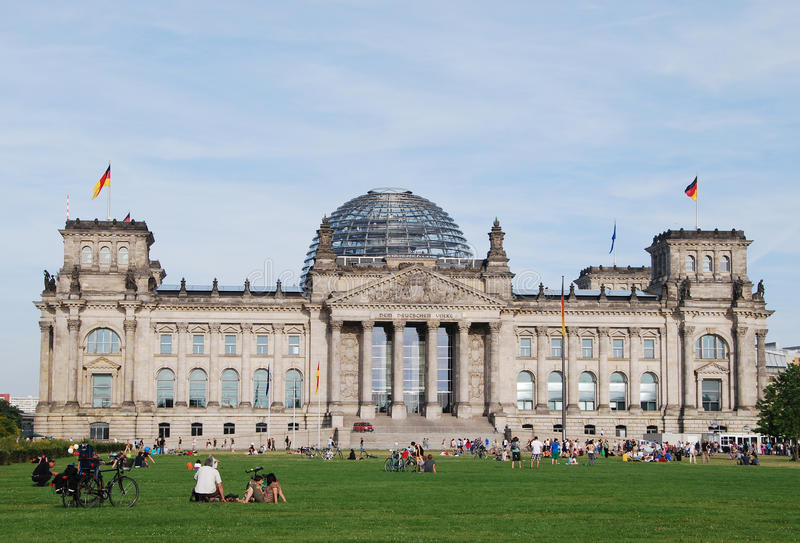 Download The Reichstag building editorial photo. Image of landscape - 27683976