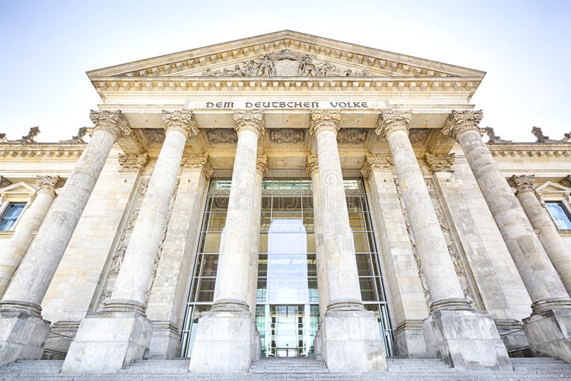 Reichstag building, Berlin, Germany royalty free stock photography