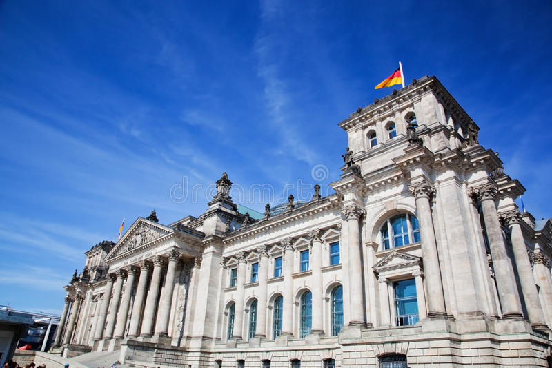 Download The Reichstag Building. Berlin, Germany Stock Image - Image of business, blue: 33221511
