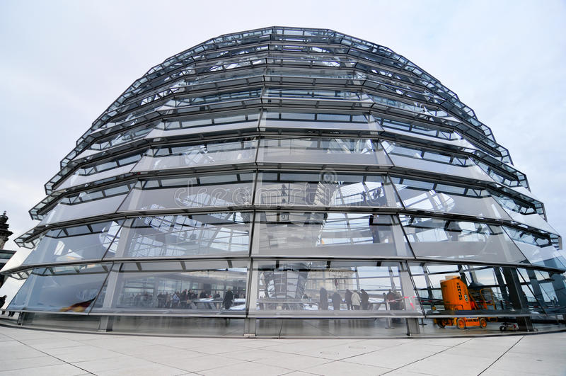 Reichstag Building in Berlin, Germany royalty free stock photos