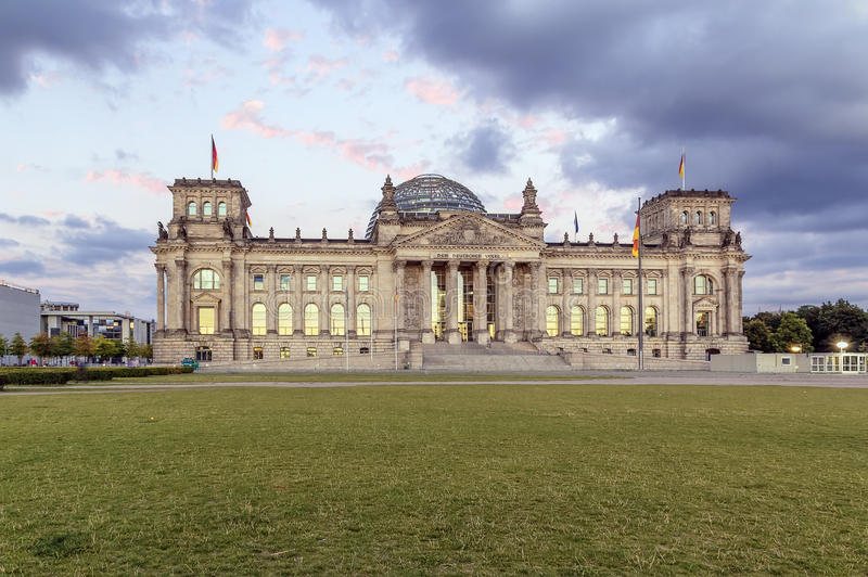 Reichstag building, Berlin stock images