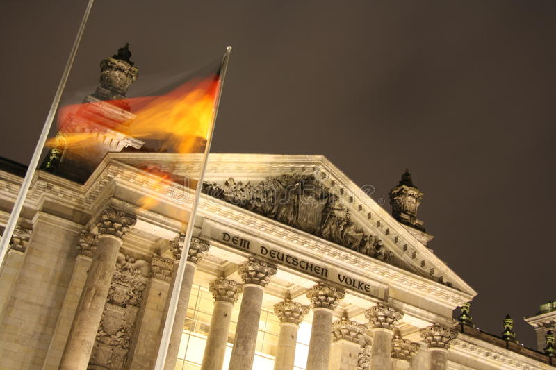 Download Reichstag Building In Berlin At Night Stock Photo - Image: 27646520