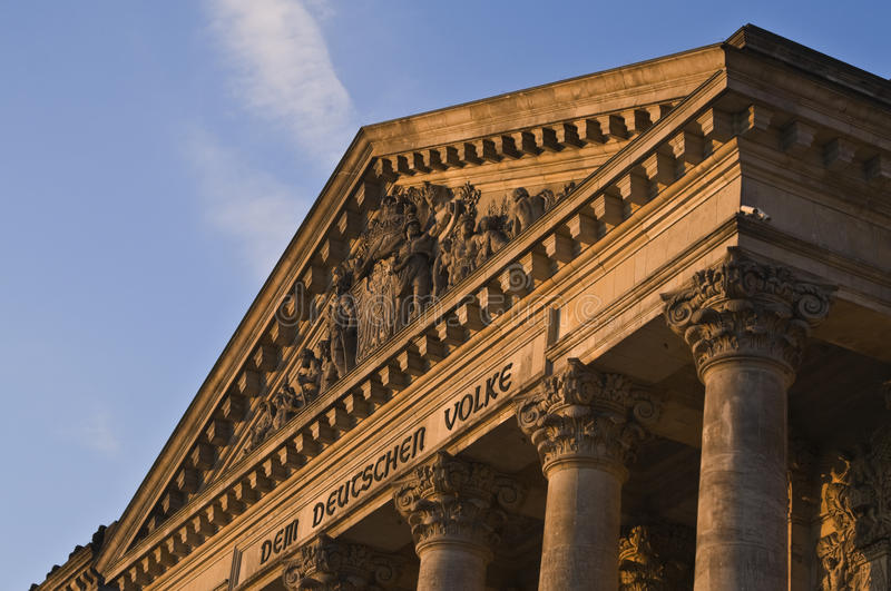 Download Reichstag building detail stock image. Image of landmark - 10938117