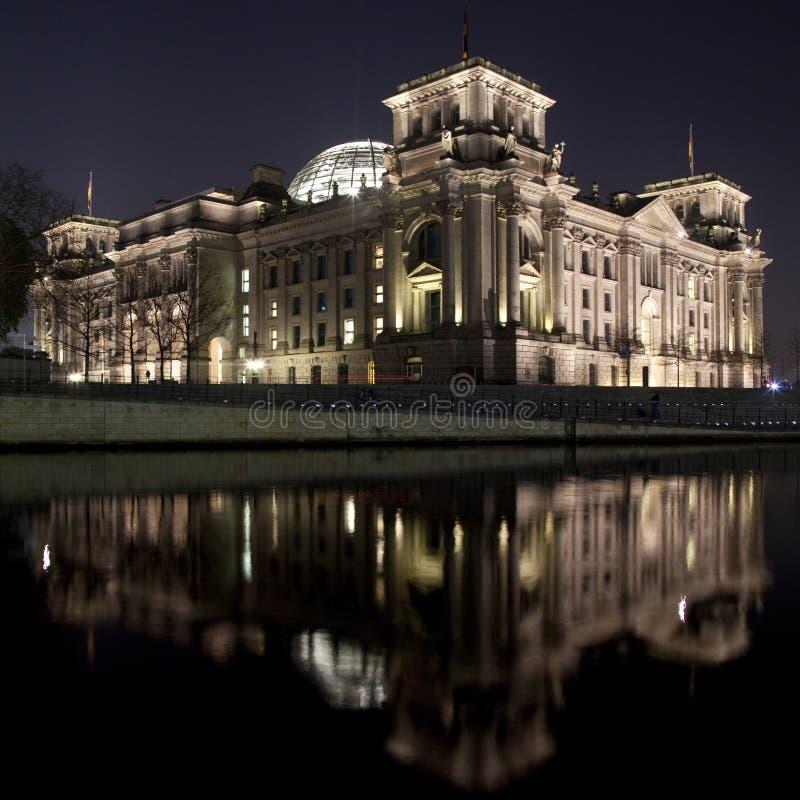 Reichstag de enfrente de la juerga foto de archivo libre de regalías