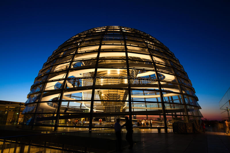 Download Reichstag dome exterior editorial stock image. Image of foster - 34292249