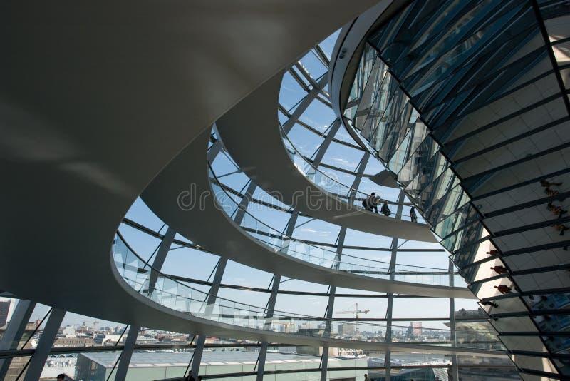 Reichstag em Berlim imagem de stock royalty free