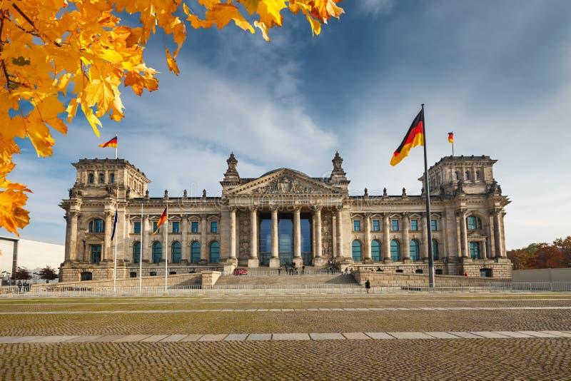 Reichstag en Berlín fotografía de archivo libre de regalías