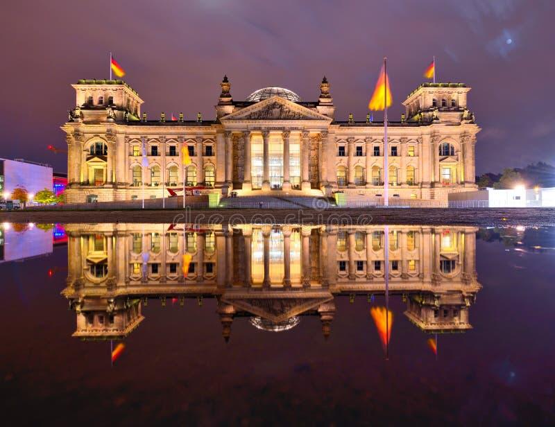 Reichstag en Berlín imagen de archivo