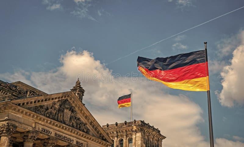 Reichstag-Geb?ude, Sitz des deutschen Parlaments lizenzfreie stockfotos