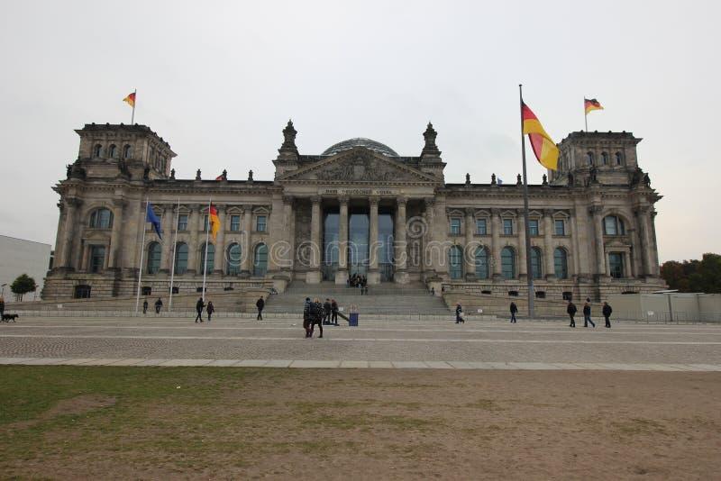 Reichstag fotografia stock