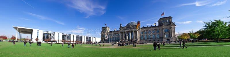 Reichstag Panorama stockfoto
