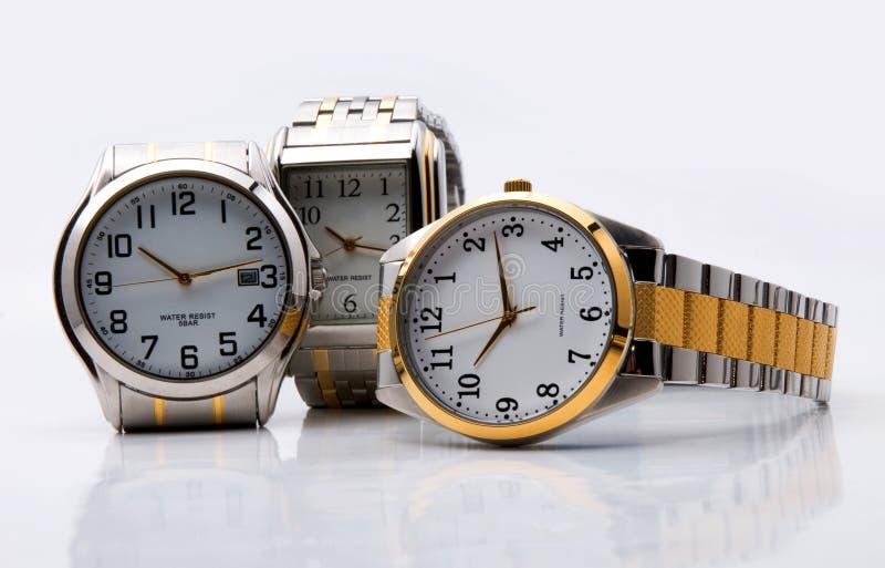 Reichweite der Uhren stockbild