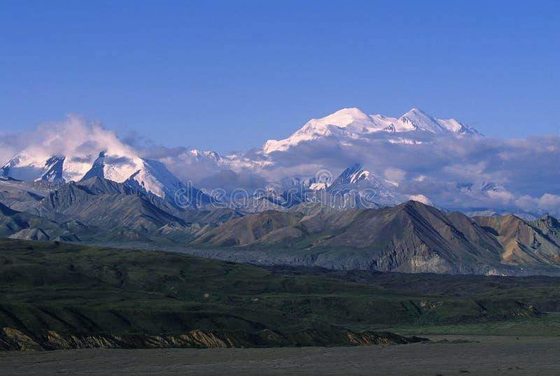 Reichweite Montierungmckinley-Alaska stockbild