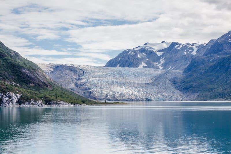 Reid Glacier em Alaska imagens de stock royalty free