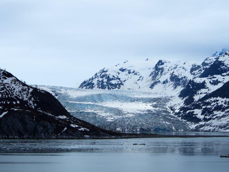 Reid Glacier, parque nacional de baía de geleira, Alaska fotografia de stock