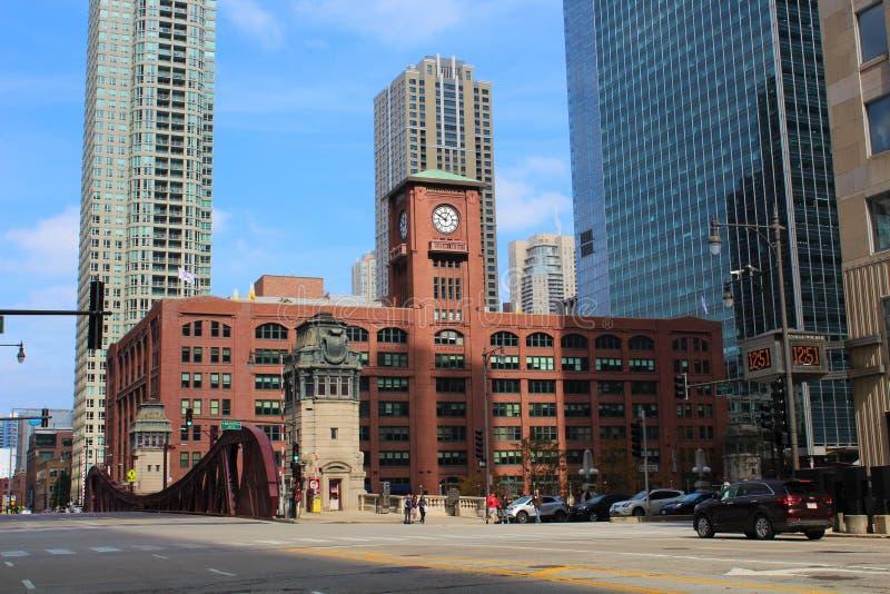 Reid, Murdoch et Co Bilding, Chicago image libre de droits