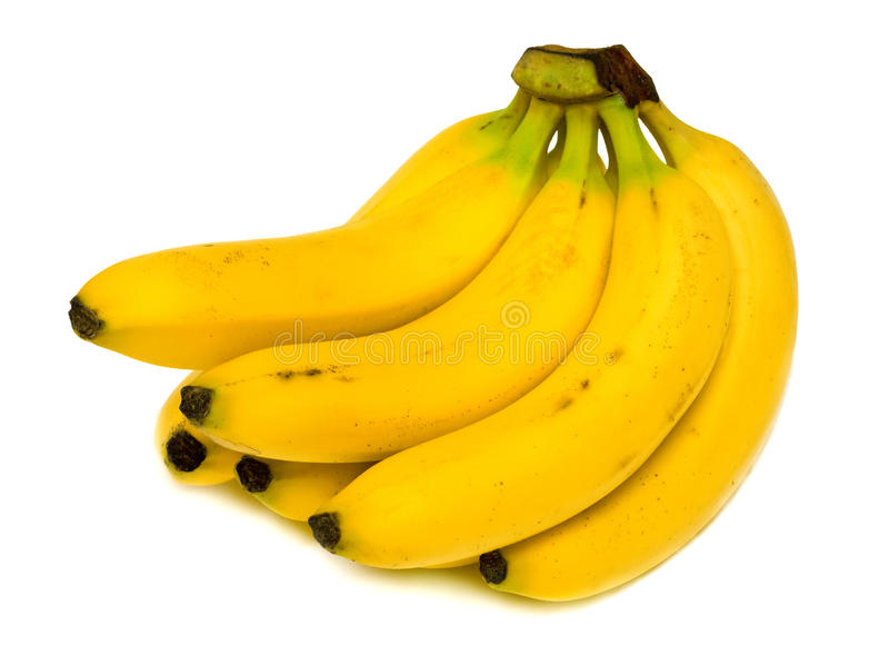 Reife Bananen lizenzfreies stockfoto