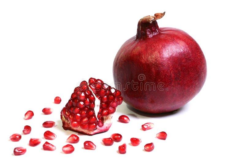 Reife Frucht eines Granatapfels. lizenzfreies stockfoto