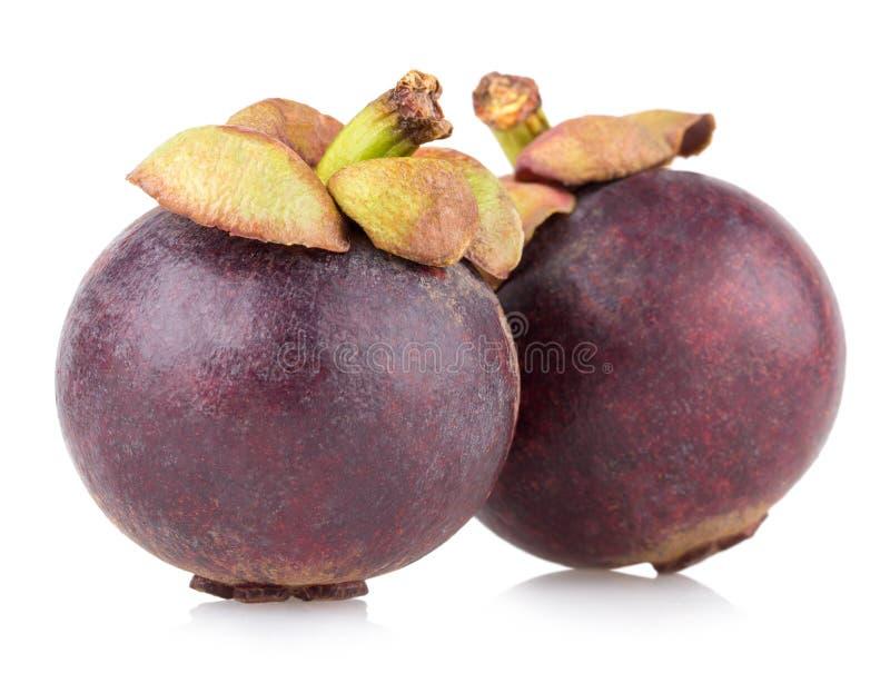 Reife Mangostanfrucht stockbilder