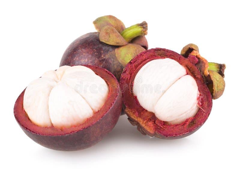 Reife Mangostanfrucht stockbild