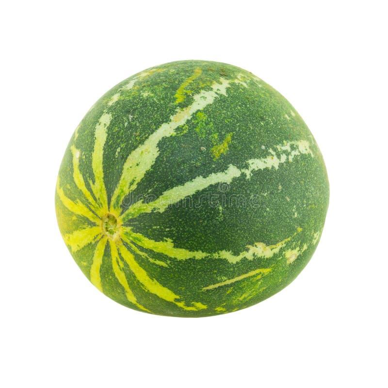 Reife Melone lokalisiert stockbilder