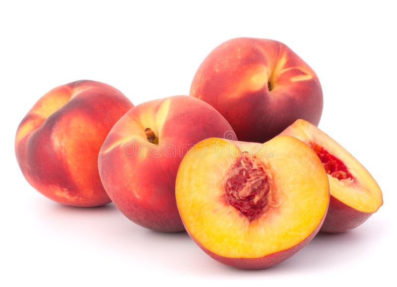 Reife Pfirsichfrucht lizenzfreie stockfotografie