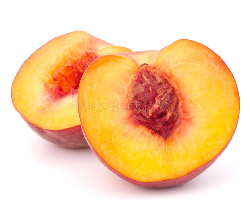 Reife Pfirsichfrucht stockfoto