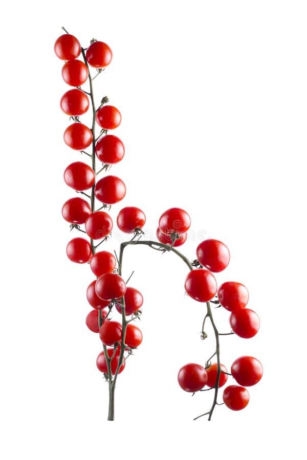Reife rote Kirschtomaten stockfotos