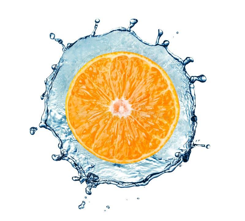Reife Tangerine stock abbildung