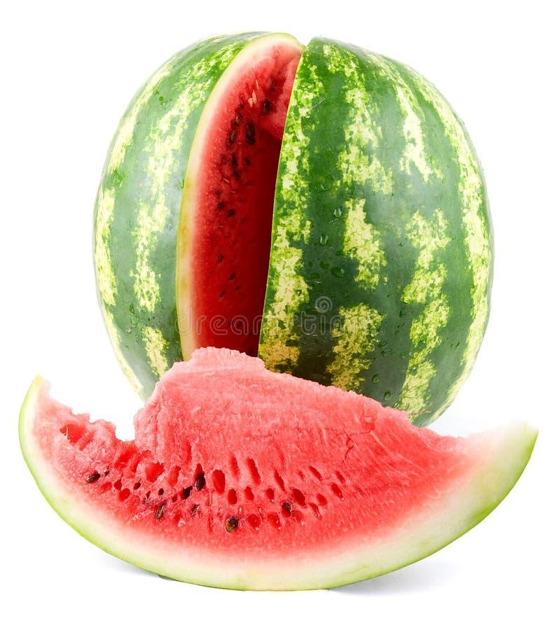 Reife Wassermelone stockfotos