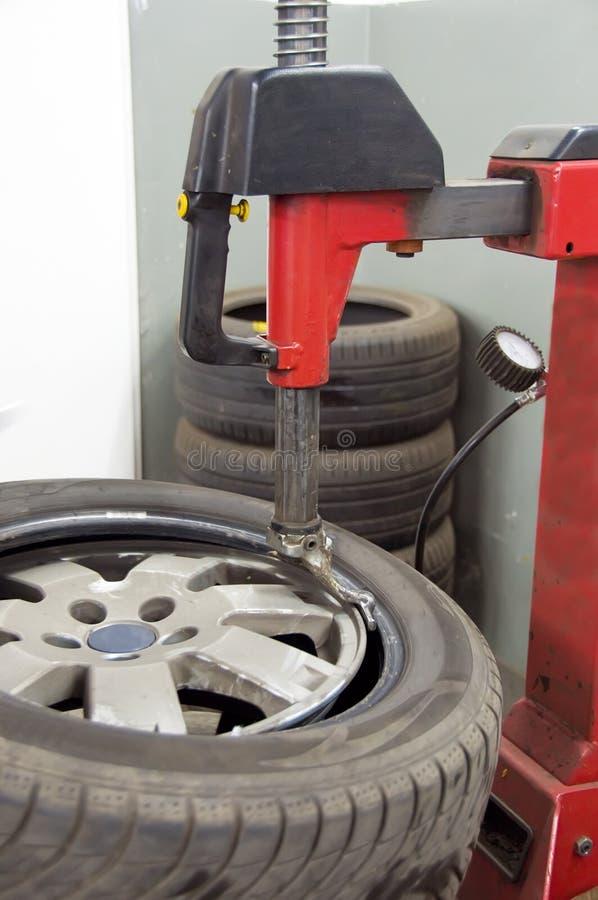 Reifenorganisieren stockfotografie