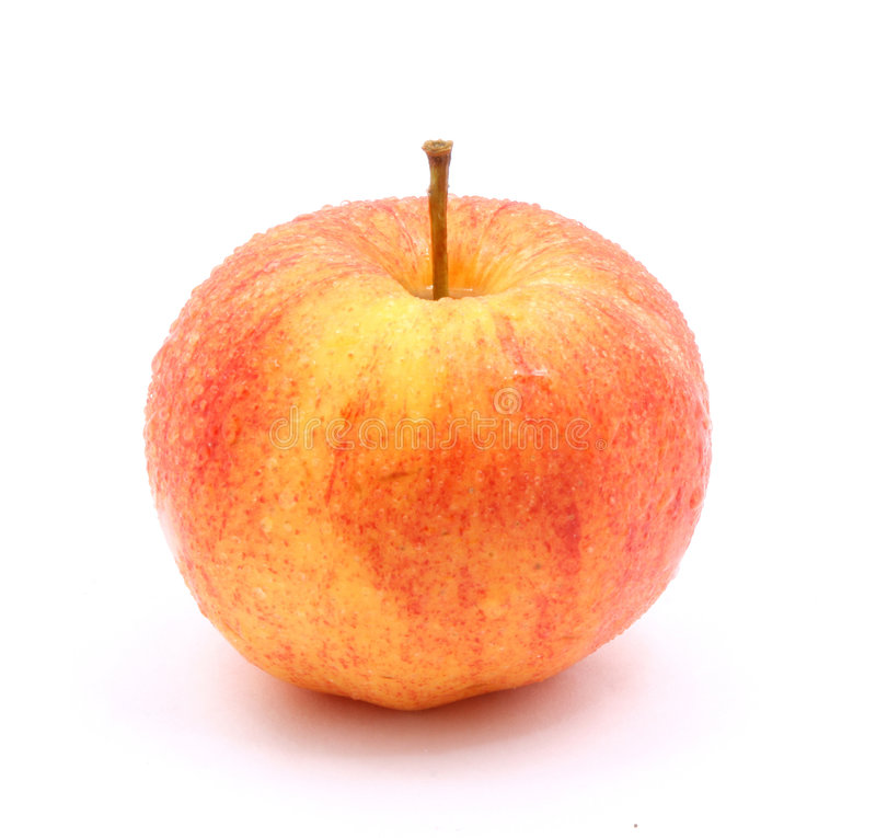 Reifer Apfel lizenzfreie stockbilder