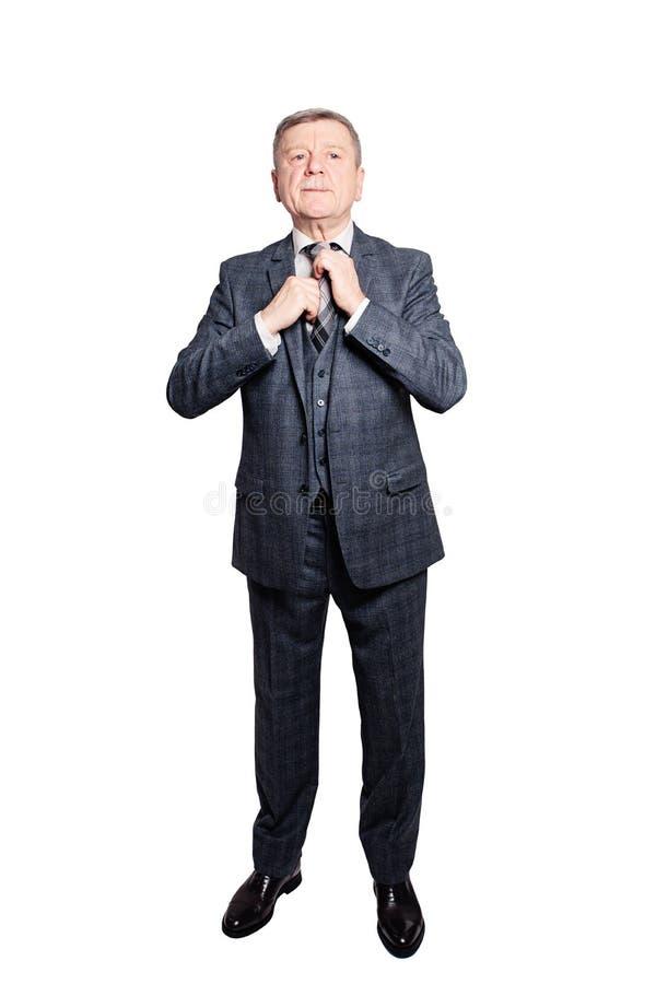 Reifer älterer Mann