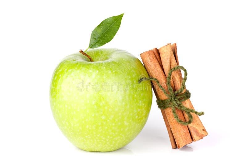 Reifer grüner Apple stockfotos