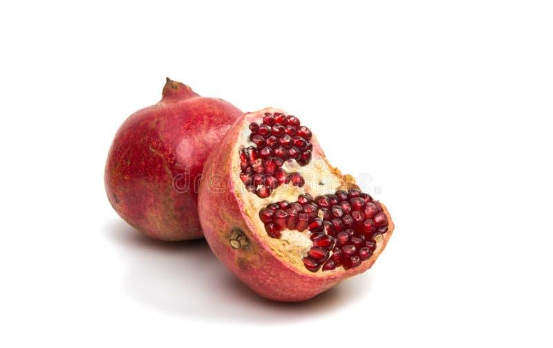 Reifer Granatapfel stockfoto