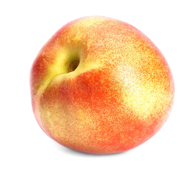 Reifer Pfirsich stockbild