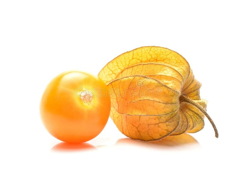 Reifer Physalis stockfotografie